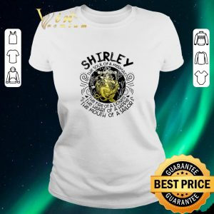 Funny Shirley the soul of a mermaid the fire of a lioness hippie sailor shirt sweater