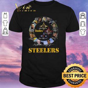 Funny Signatures Pittsburgh Steelers team player shirt