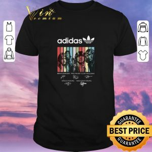 Funny Vintage adidas all day i dream about Queen signatures shirt