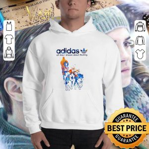 Funny adidas all day i dream about Mushing shirt 2