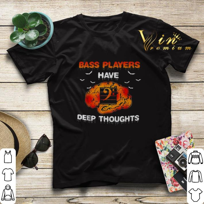 Halloween Bass players have deep thoughts shirt 4 - Halloween Bass players have deep thoughts shirt