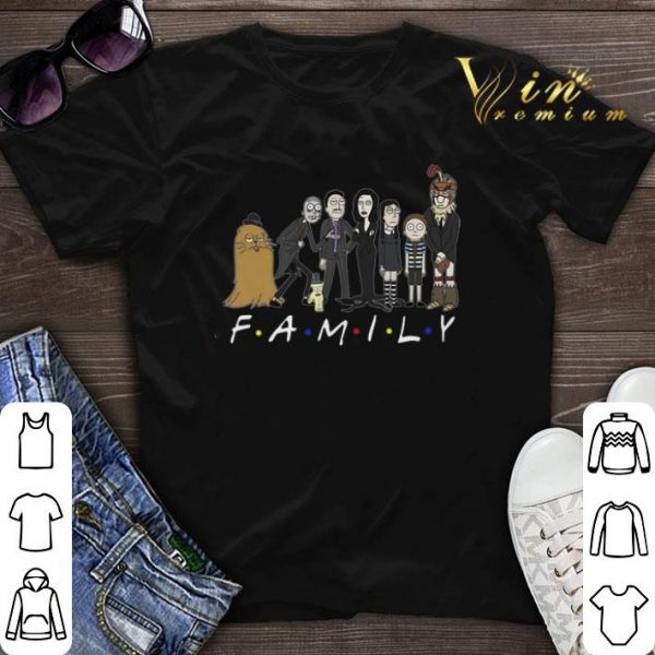 Harry Potter Rick and Morty Family Friends shirt sweater
