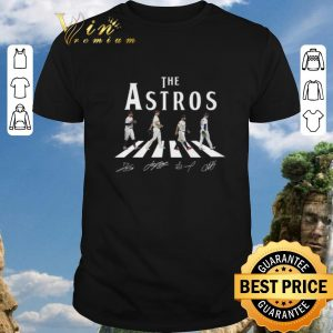 Hot The Astros Houston Astros Abbey Road signatures shirt 2020