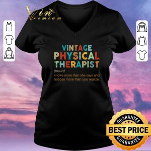 Hot Vintage Physical Therapist knows more than she says and notices shirt sweater