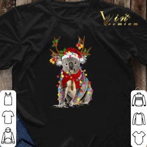 Koala reindeer Merry Christmas shirt sweater 2