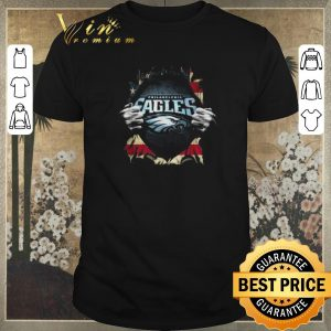 Nice American flag Philadelphia Eagles Superman shirt