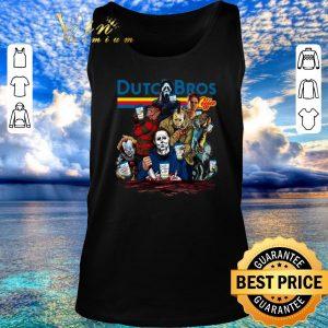 Nice Dutch Bros Coffee Horror movie characters shirt 2020
