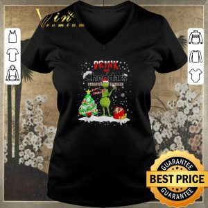 Nice Grinch Drink Up Cheddar's Scratch Kitchen Christmas shirt sweater 1