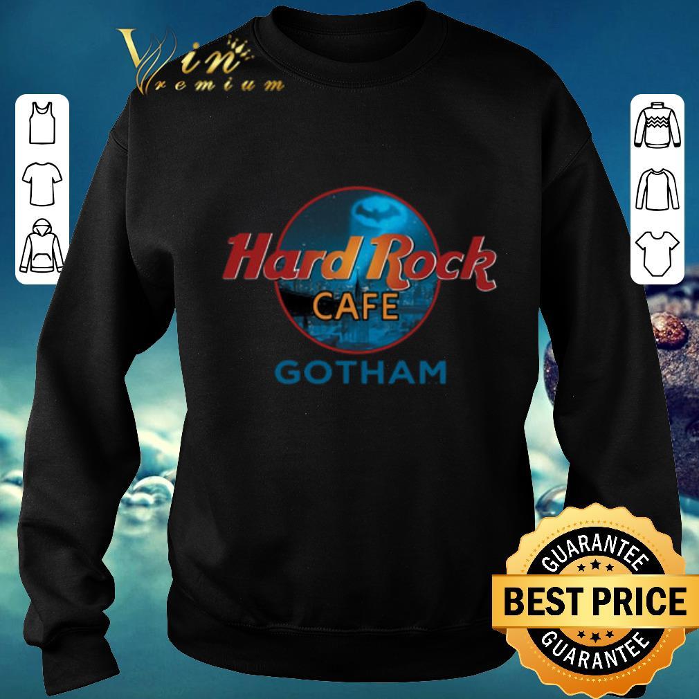 Nice Hard Rock Cafe Gotham shirt sweater 2019 4 - Nice Hard Rock Cafe Gotham shirt  sweater 2019