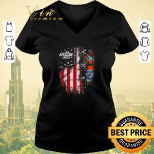 Nice Keystone Light beer inside American flag shirt sweater 1