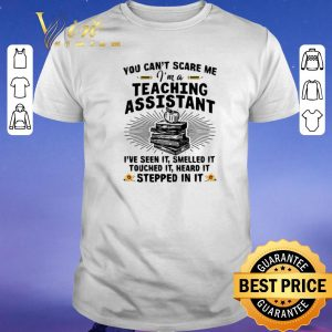 Nice You can't scare me i'm a teaching assistant i've seen it smelled it shirt sweater