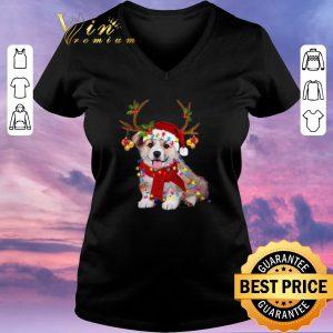 Official Corgi reindeer Christmas shirt sweater