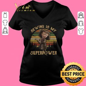 Official Edna Mode sewing is my superpower sunset shirt sweater 2019