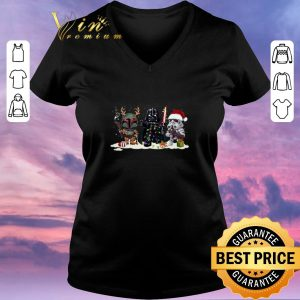 Official Jango Fett Darth Vader Stormtrooper Christmas shirt sweater