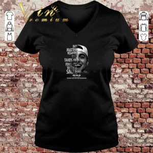 Official Mac Miller No matter where life takes me find me with a smile shirt sweater 2019 2