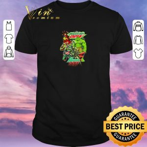 Official Mountain Dew Avengers Marvel shirt sweater