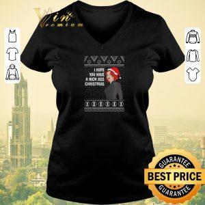 Original Black Widow I Hope You Have A Kick Ass Christmas shirt sweater