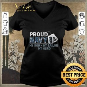 Original Proud Navy Mom My Son My Sailor My Hero shirt sweater