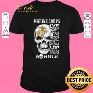 Original Skull Marine Corps i've only met about 3 or 4 people that understand shirt sweater 2019