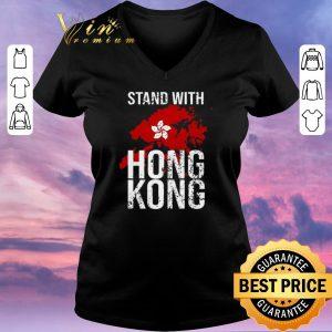 Original Stand with Hong Kong maps flag shirt sweater