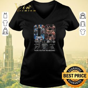 Original Thank you for the memories 08 years of The Shield 2012 2020 shirt