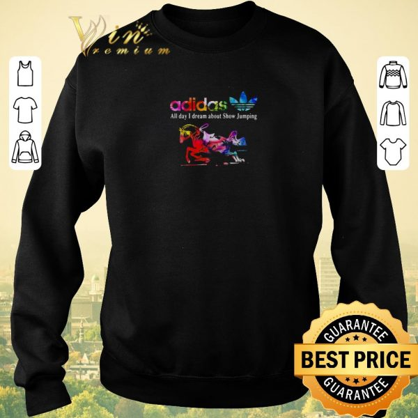Original adidas all day i dream about Show Jumping shirt sweater
