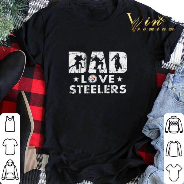 Pittsburgh Steelers Dad love Steelers shirt sweater