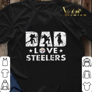 Pittsburgh Steelers Dad love Steelers shirt sweater 2