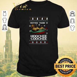 Premium Alan Jackson Hotter than a Hoochie Coochie Christmas shirt sweater