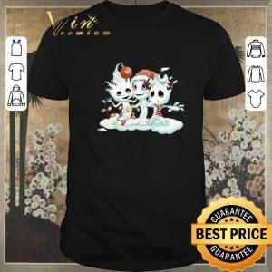 Premium Christmas Baby Groot mashup Snowman shirt