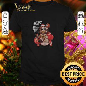 Premium Fat Thor Merry Christmas shirt