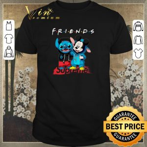 Premium Friends Stitch and Mickey Supreme shirt sweater