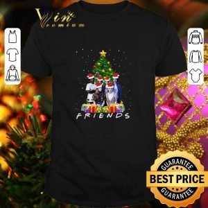 Premium Friends Stranger Things Characters Christmas tree shirt