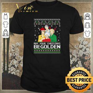 Premium Golden Girls May Your Christmas be Golden shirt sweater