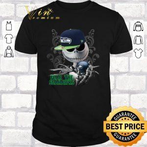 Premium Jack Skellington fear the Seattle Seahawks shirt sweater