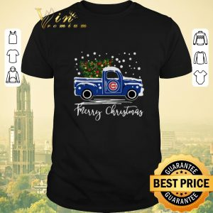 Premium Merry Christmas Chicago Cubs truck shirt