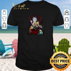 Premium Rick and Morty version Stranger Things shirt sweater 2019
