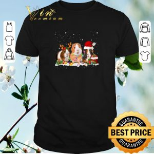 Premium Santa Christmas Guinea Pig shirt
