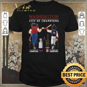 Premium Son Goku Vegeta Washington Nationals City Of Champions shirt sweater