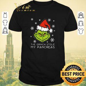 Premium The Grinch stole my pancreas Christmas shirt sweater