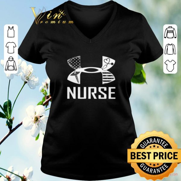 Premium Under armour Nurse American shirt sweater