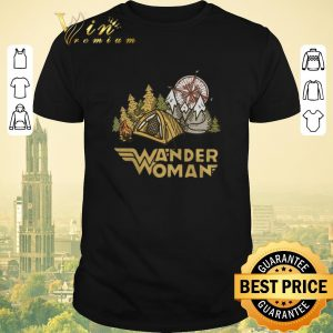 Pretty Camping Wander Woman compass shirt sweater