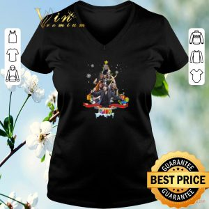 Pretty Christmas tree Iron Maiden Bruce Dickinson shirt