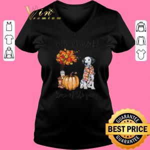 Pretty Dalmatian & Pumpkin it's the most wonderful time of the year shirt sweater