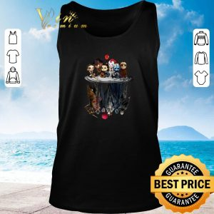 Pretty Horror movie characters water mirror reflection Halloween shirt 2020