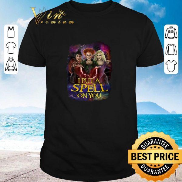Pretty I put a spell on you Hocus Pocus shirt 2020