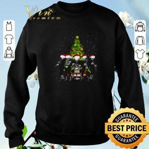 Pretty Merry Christmas tree Cantina Band shirt 2