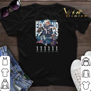 Signature Tom Brady New England Patriots 6 cups shirt