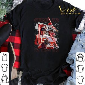 Signatures Come To The Kansas City Chiefs Side Star Wars shirt