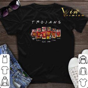 Signatures Friends USC Trojans shirt